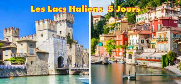 LES LACS ITALIENS  5 Jours / 4 Nuits