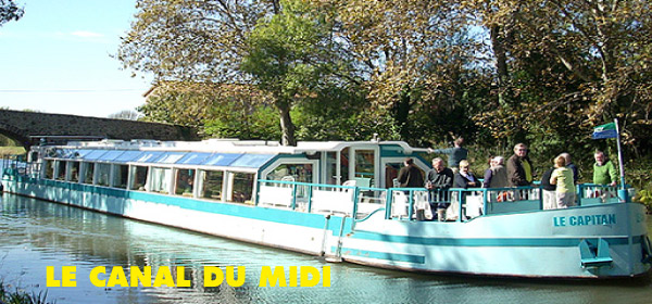 Le Canal du Midi - 9 ECLUSES