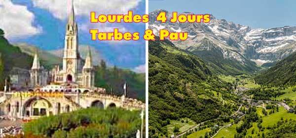 LOURDES Pyrénées - Tarbes - Pau