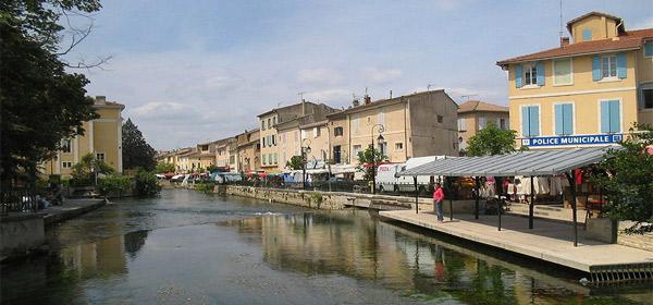 Isle sur Sorgue & Fontaine de Vaucluse