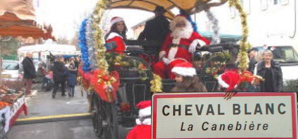 Marché de Noël de Cheval Blanc 1/2 J
