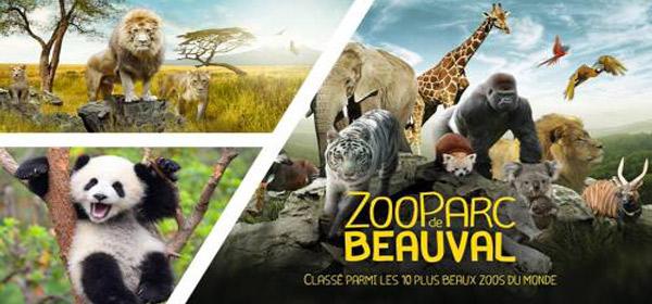 ZOO de BEAUVAL & VULCANIA -  4 Jours