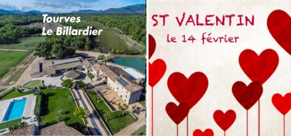 Journée Saint Valentin - 58 € Agneau en Broche - Domaine du Billardier