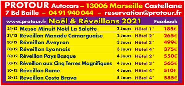 Protour Réveillons  2019