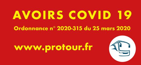Avoirs épidémie COVID 19